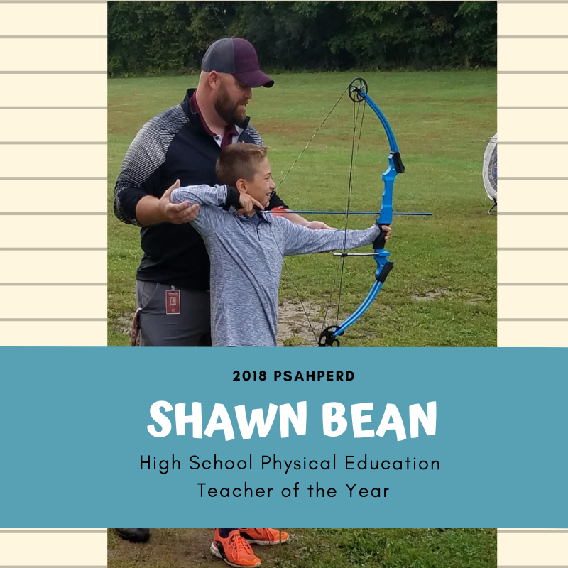 Shawn Bean Teacher of the Year